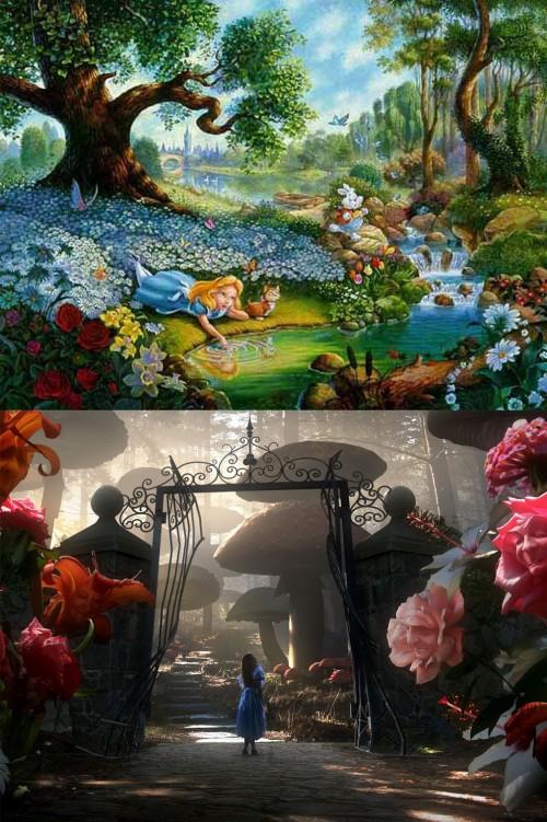 Alice 1951 & 2010