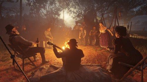 rdr2 campfire